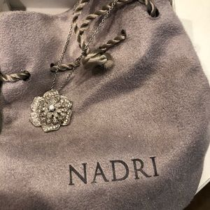 Nadri Beautiful Flower Necklace